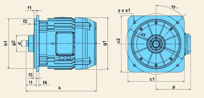 Электродвигатели серии КЕ