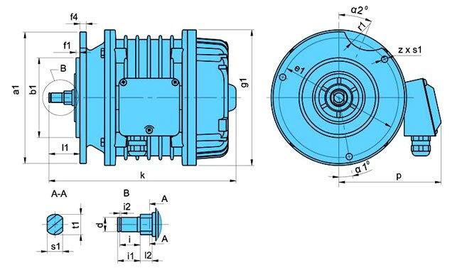 Электродвигатели серии ККЕ