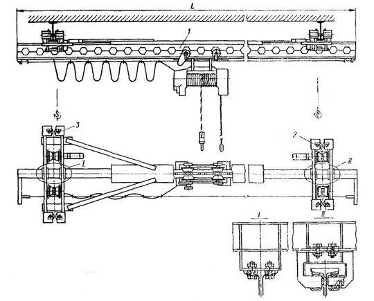 Эл схема крана мостового фото 370