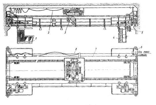 Эл схема крана мостового фото 245