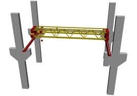 Кран мостовой электрический однобалочный опорный
